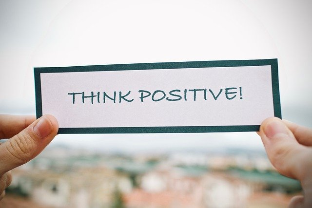 one positive thought
